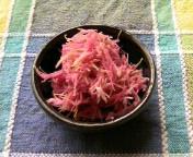 秋・菊のおひたし